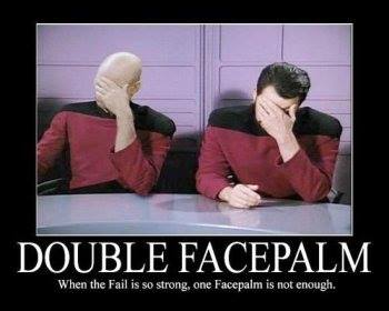 Double facepalm od Double Diamond